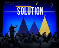 Solution Decision Discovery Problem Solving Concept Stock Photos