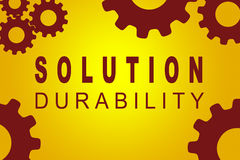 Solution Durability concept Royalty Free Stock Image