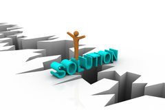 Free Solution For Business Problem Royalty Free Stock Image - 31699566