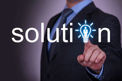 Solution Human Resource Concept Stock Images