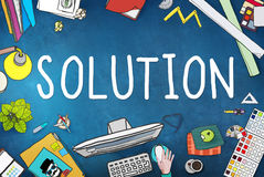Solution Innovation Progress Strategy Decision Concept Stock Photography