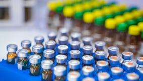 Solution liquide dans le laboratoire en verre