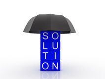 Solution metaphor Stock Images