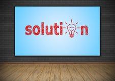 Solution Stock Photos