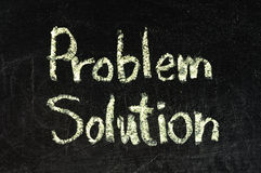 Solution for a problem