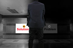 Solution or Problem Royalty Free Stock Photos