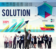 Solution Problem Solving Business Strategy Concept Royalty Free Stock Images