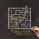 Solution or problem solving concept Royalty Free Stock Photography