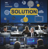 Solution Problem Solving Ideas Strategy Concept royalty free stock photos