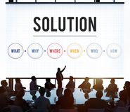 Solution Problem Solving Share Ideas Concept Stock Photos