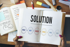 Solution Problem Solving Share Ideas Concept Royalty Free Stock Image