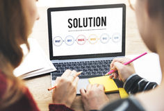 Solution Problem Solving Share Ideas Concept Stock Photo