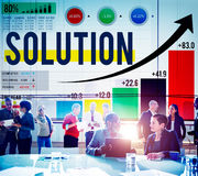 Solution Progress Strategy Improvement Decision Answer Concept Stock Images