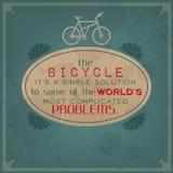 Solution simple aux problèmes du monde illustration stock