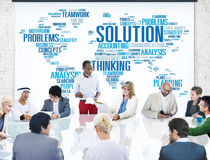 Solution Solve Problem Strategy Vision Decision Concept Stock Photo