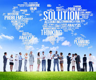 Solution Solve Problem Strategy Vision Decision Concept Stock Photos