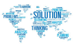 Solution Solve Problem Strategy Vision Decision Concept Royalty Free Stock Images