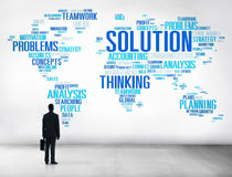 Solution Solve Problem Strategy Vision Decision Concept Royalty Free Stock Photo