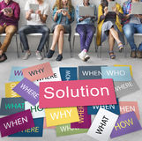Solution Solving Problem Success Theory Concept Stock Photography