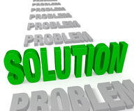 A Solution Stands Up Royalty Free Stock Photo