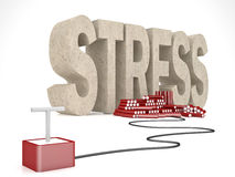 Solution for stress Stock Photos
