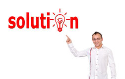 Solution symbol Stock Images