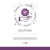 Solution Think New Idea Inspiration Creative Process Business Royalty Free Stock Photos