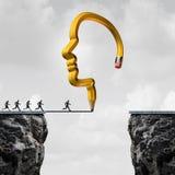 Solution Thinking Idea Stock Image