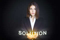 The Solution Stock Photos