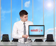 Solution Royalty Free Stock Images