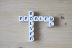 Solutionneur de problèmes je Image stock