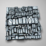 Solutions Royalty Free Stock Image
