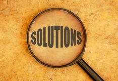 Solutions Photos libres de droits