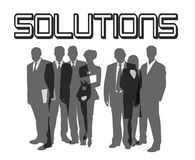 Solutions Royalty Free Stock Photos