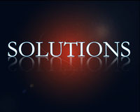Solutions Stock Images