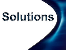 Solutions Royalty Free Stock Images