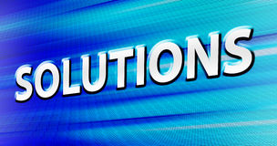 Solutions Stock Image