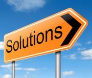 Solutions concept. Stock Photos