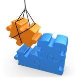 Solutions constructives illustration de vecteur