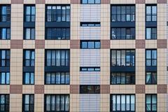Solutions de façade de nouveaux bâtiments résidentiels image libre de droits