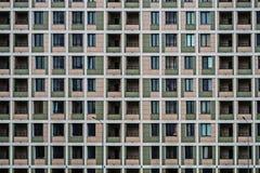 Solutions de façade de nouveaux bâtiments résidentiels photo stock