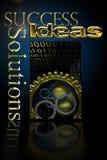 Solutions de succès commercial Photos stock