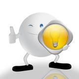 Solutions et caractère 3D Image libre de droits