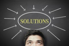 The Solutions Stock Photo