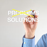 Solutions, not problems Stock Images
