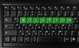 Soluzione Immagini Stock