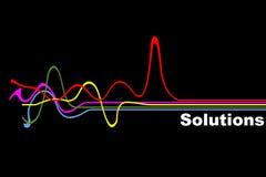 Soluzione illustrazione vettoriale