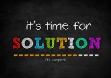 soluzione Immagine Stock Libera da Diritti