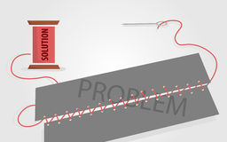 Soluzione ai problemi Fotografie Stock Libere da Diritti