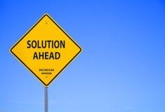 Soluzione avanti Immagine Stock Libera da Diritti